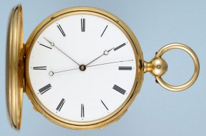 Gold Quarter Repeating Independent Seconds Hunter