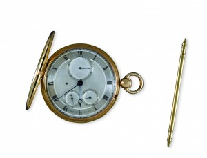 Breguet No. 2585 half-quarter repeating watch sold in 1811 to Prince Camille Borghèse- Antique Pocket Watch
