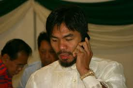 Manny Pacquiao | Wearing The Rolex Prior To Losing It