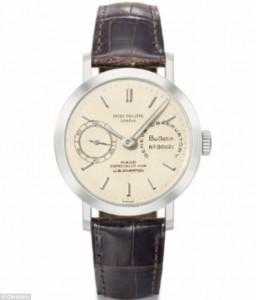952 Patek Philippe platinum chronometer | Given To Brad Pitt By Angelina Jolie