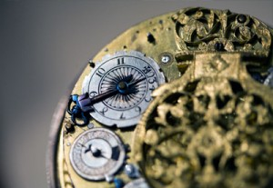 Close Up Image of Antique Pocket Watch | Open Cased Vintage | Classic Watch
