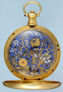 Rare Chinese Market Duplex with Enamelled Movement