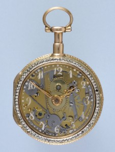 Rare Skeletonised Repeater with Glass Dial