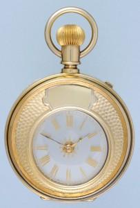 Silver Gilt Mystery Watch