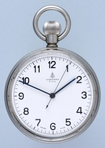Swiss Centre Seconds Deck Watch by Longines   Antique Pocket Watches