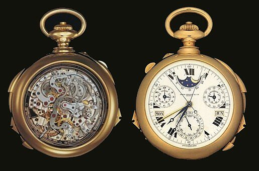 The_Supercomplication_1 antique pocket watch Pieces of Time
