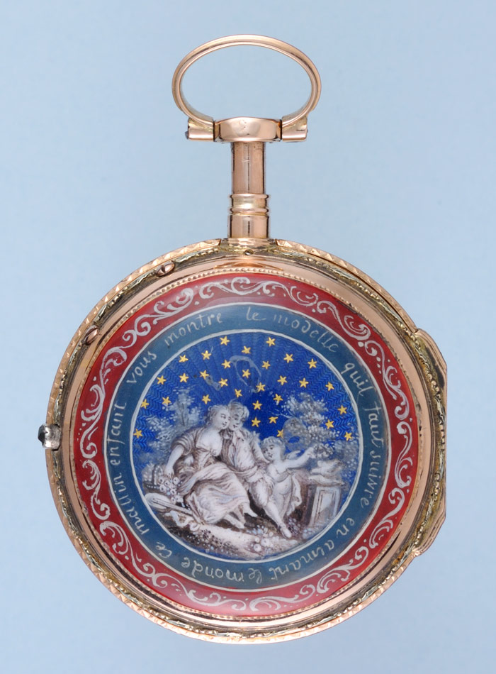 Gold and Enamel Quarter Repeater | Vintage Fob Watch | Antique Pocket Watches