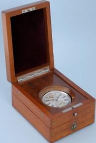 Silver Cased Deck Watch by Nardin antique marine watches