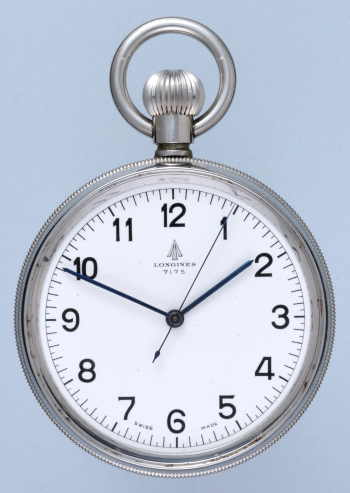 Swiss Centre Seconds Deck Watch by Longines Antique Marine Watches