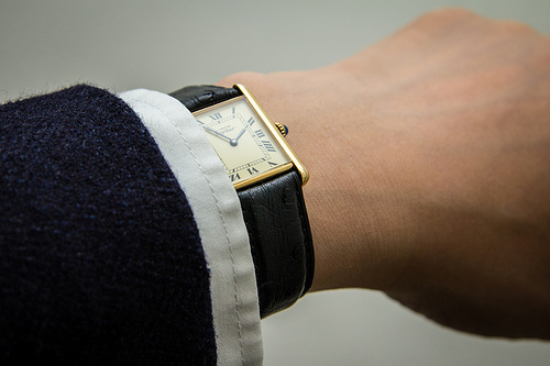 A Cartier Vintage Wrist Watch Similar to the antique wrist watches you can buy from Pieces of Time