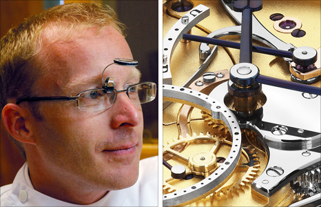 The Watchmaker's Apprentice star and famous watchmaker Roger Smith respected by all including Pieces of Time