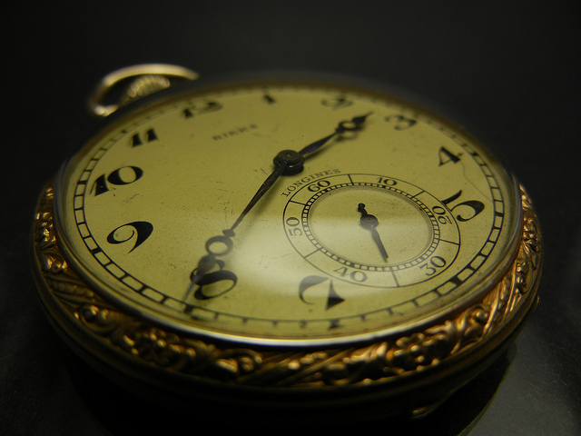 A Longines antique pocket watch Pieces of Time London