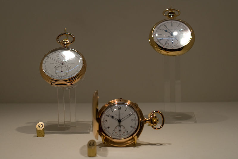 A Collection of Patek Philippe antique pocket watches owned by Tiffany & Co.