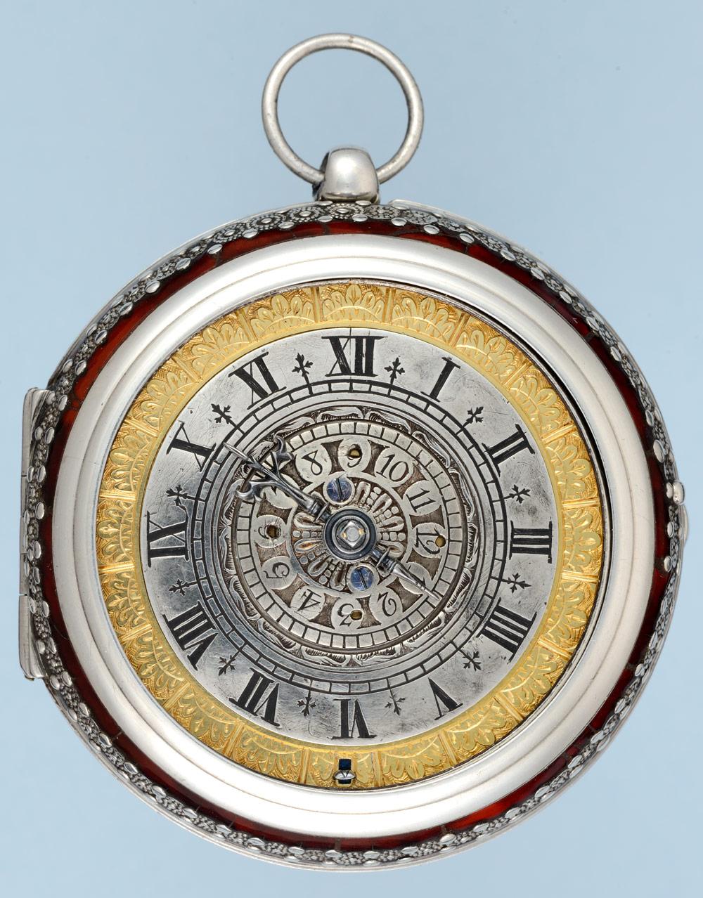 •Pre Balance Spring Dutch Alarm Pocket Watch