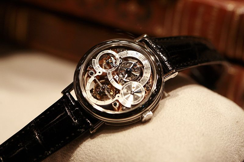 A wonderful example of a Breguet MG watch – Pieces of Time, London