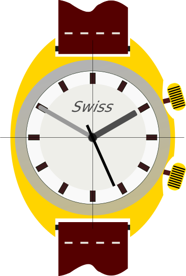 A design of a Swiss antique wrist watch for sale like those at Pieces of Time