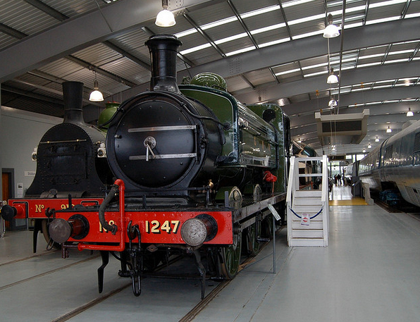 'The Old Lady' GNR Locomotive 1247 (built 1899).