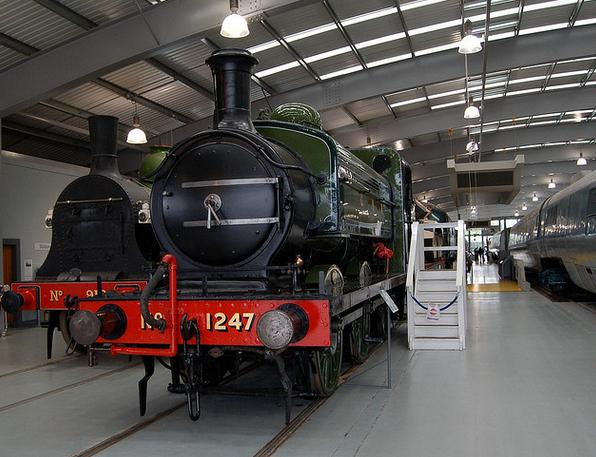 'The Old Lady' GNR Locomotive 1247 (built 1899).