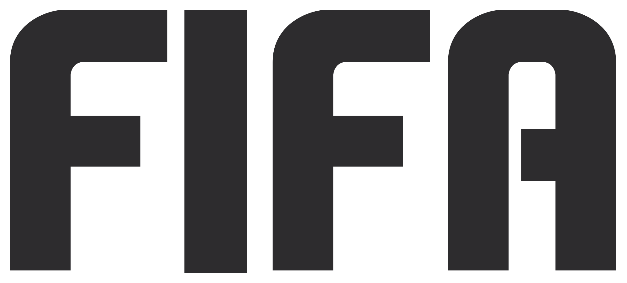 The FIFA logo for the games console version of the real sport also known as soccer