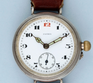 Silver Borgel Cased Trench Watch from Pieces of Time