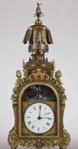 Fontaine Antique Chinese Clock