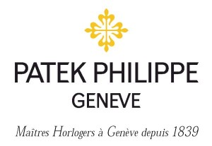 The Patek Philippe logo in colour as seen on antique pocket watches