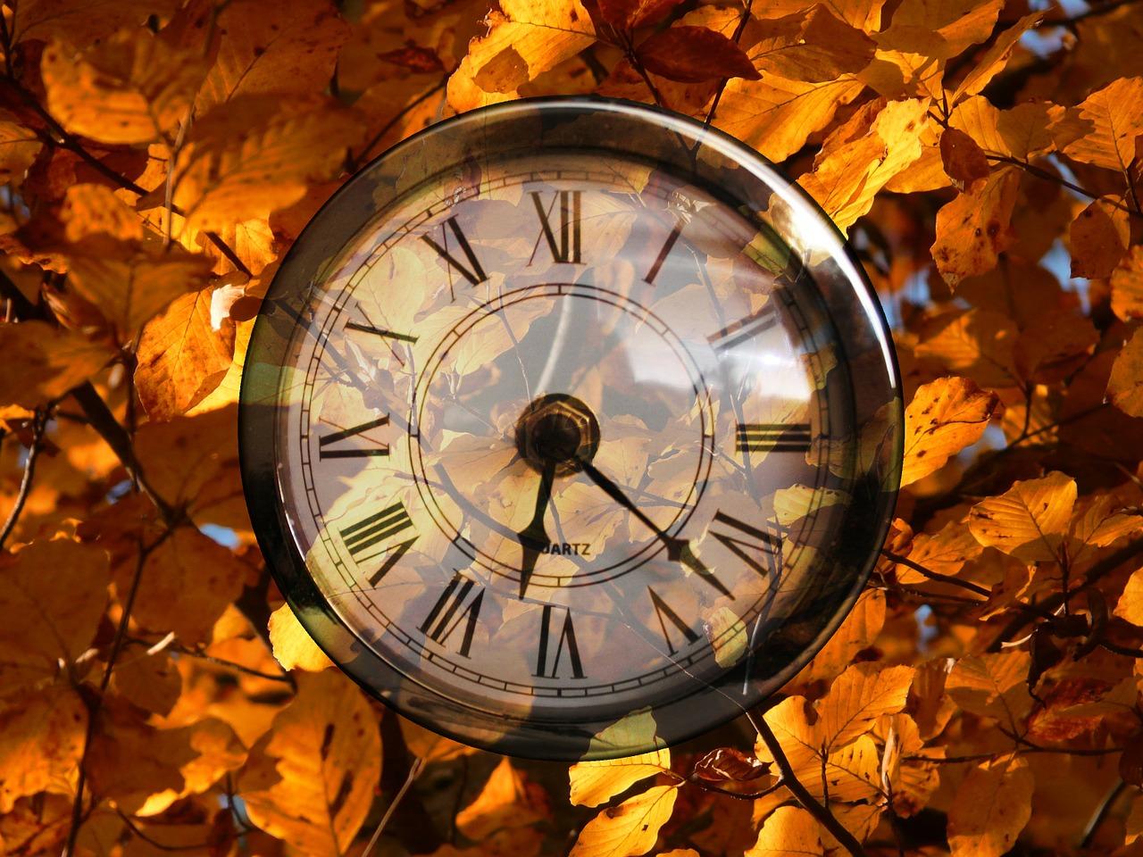 Autumn Daylight Saving Time sets clocks back in October