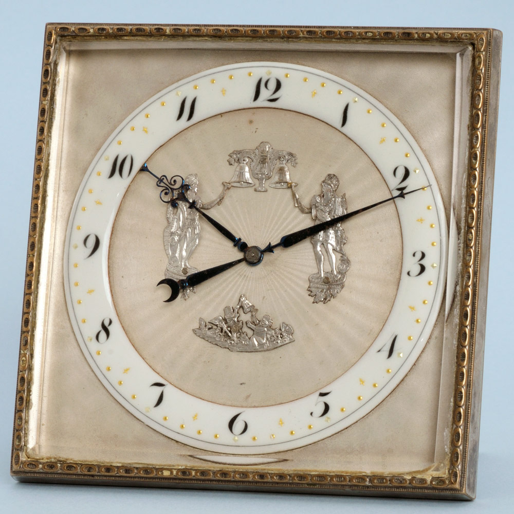 antique desk clock from 1920, available from Pieces of Time.