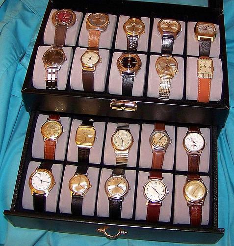 antique watches need proper dry, dark and safe storage.