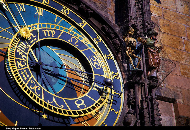 The Old Town Astronomical Clock in Prague is one of the most beautiful clocks in the world.
