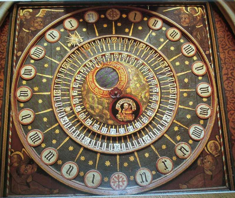 Wells Cathedral astronomical clock